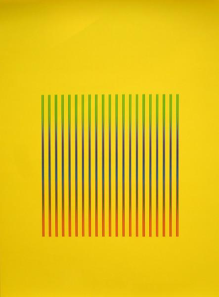 Julia Atkinson, Interchange - Series 24 - Yellow, 1975