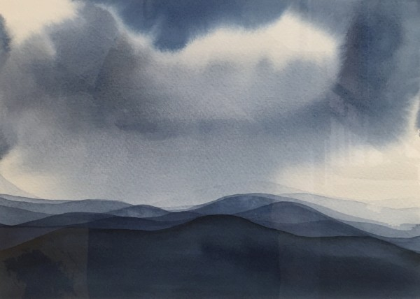 Judith Beeby, Blue Mountains I, 2020