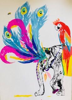 Millie McCallum, Elephant and Parrot