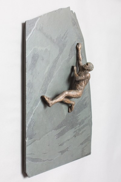 Emma Jean Kemp, Climber - Reaching (Male)