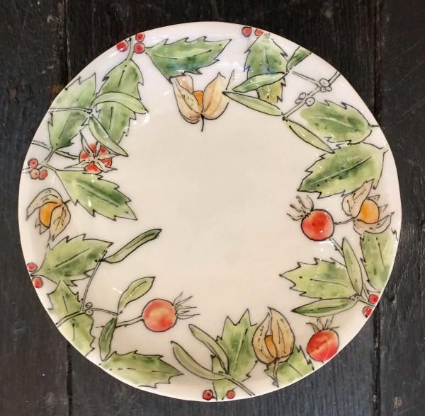 Kerry Edwards, Round Christmas Dish