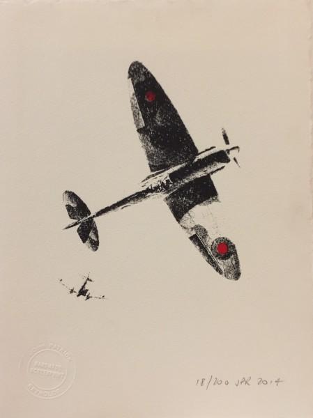 J P Reynolds, Fighting plane