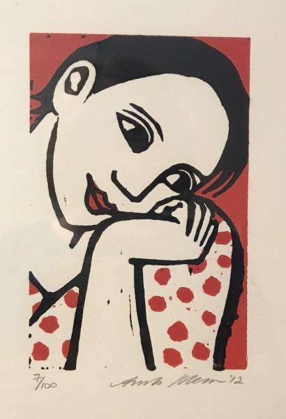 Anita Klein, The Dotty Blouse