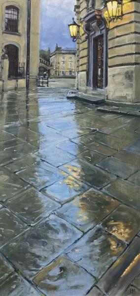 Ben Hughes, Towards the Bridge of Sighs, Oxford