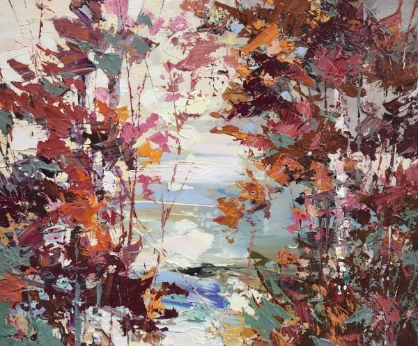 Paul Treasure, Shoreline Oaks, 2020