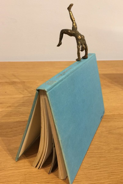 Emma Jean Kemp, Little Bronze Book People - Female Acrobat
