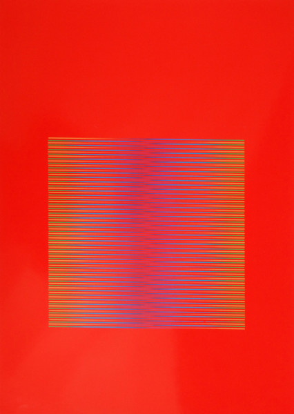 Julia Atkinson, Interchange - Series 25 - Red, 1978