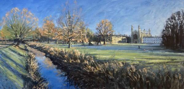 Ben Hughes, King's College across the Backs, Cambridge