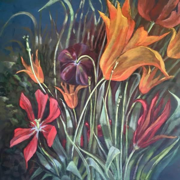 Joyce Pinch, Dancing Tulips