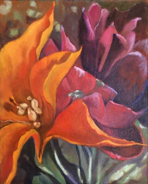 Joyce Pinch, Velvet Tulips
