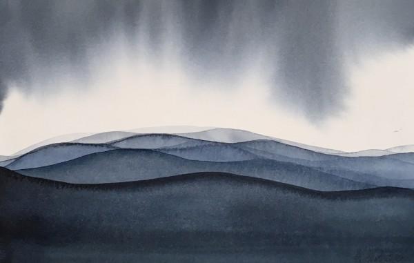 Judith Beeby, Blue Mountains III, 2020