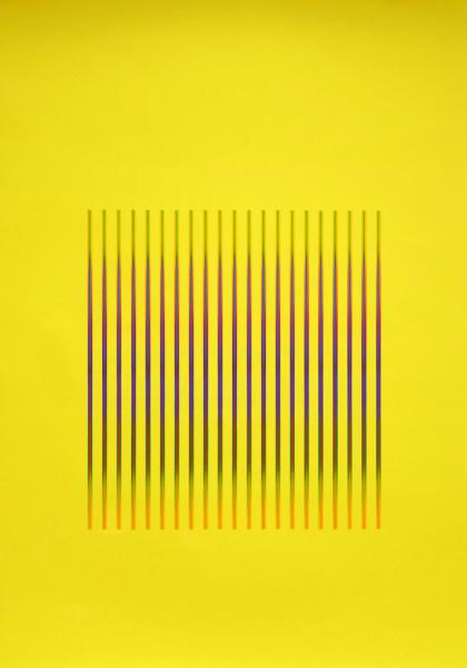 Julia Atkinson, Interchange - Series 23 - Yellow, 1975