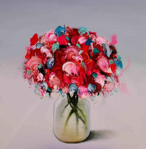 Fran Mora, Flores Rojos (Red Flowers)