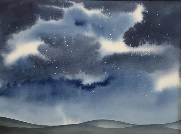 Judith Beeby, Starry Night I, 2020