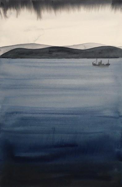 Judith Beeby, Fishing, 2020