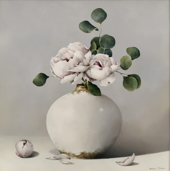 Susan Cairns, Peonies and Eucalyptus