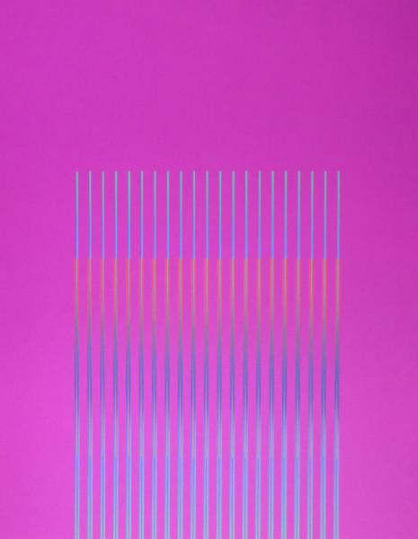 Julia Atkinson, Interchange - Series 4 - Magenta, 1975