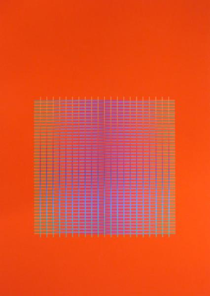 Julia Atkinson, Interchange - Series 13 - Vermillion, 1977