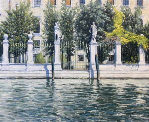 Ben Hughes, Palazzo Garden on the Grand Canal, Venice