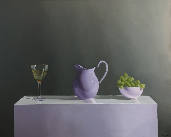 Robert Walker, Grapes with Wine, 2018