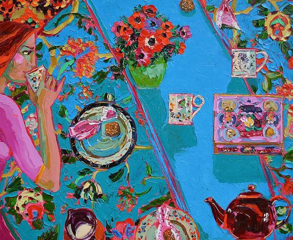 Lucy Doyle, Amaretti and Tea