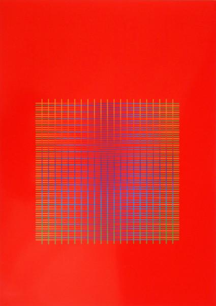 Julia Atkinson, Interchange - Series 11 - Red, 1975