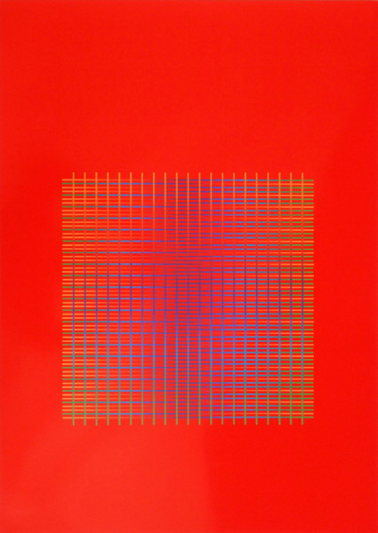 Julia Atkinson, Interchange - Series 12 - Red, 1975