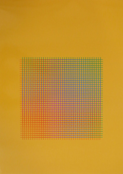Julia Atkinson, Interchange - Series 17 - Orange, 1977