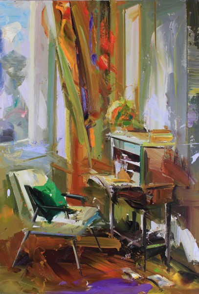 Paul Wright, The Writer's Desk