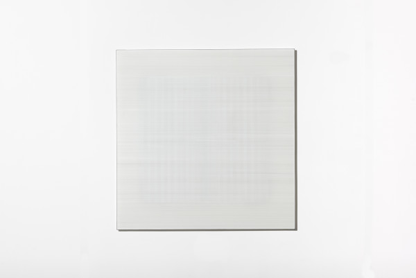 Cobi Cockburn, In the Vicinity of White (Grid) #6, 2018