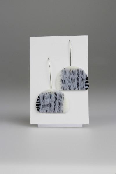 Grey Hamburglers Earrings