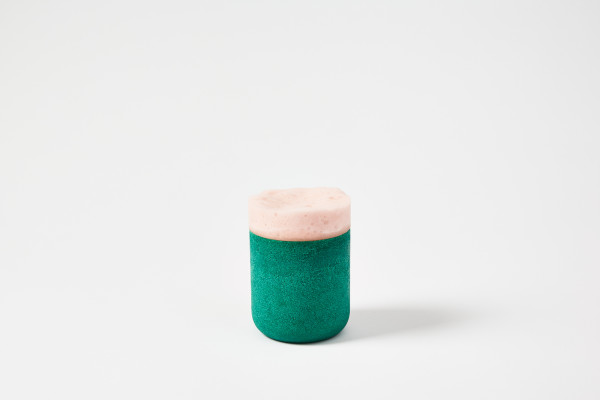 Joshua Kerley, Composite Lidded Jar (small) - Teal, 2020