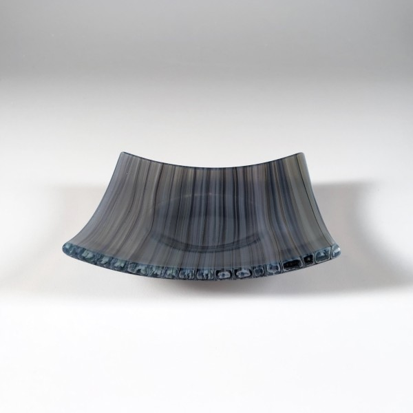 Opaline Cane Dish (Gray/Blue) 02