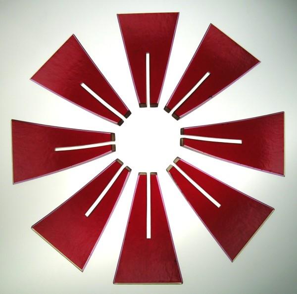 Kirstie Rea, Red Rosette, 2003