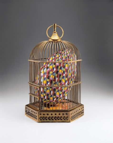 Richard Marquis, Egg in Cage 07-3, 2007