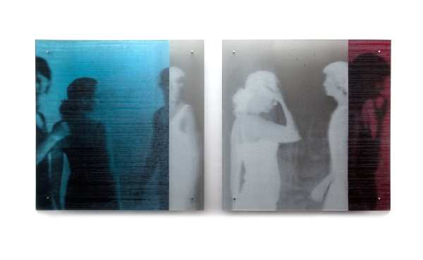 Kate Baker, Untitled Diptych (Encode Series), 2011