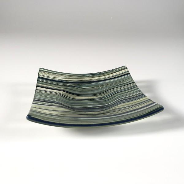 Pastel Cane Dish (Green Tea) 01