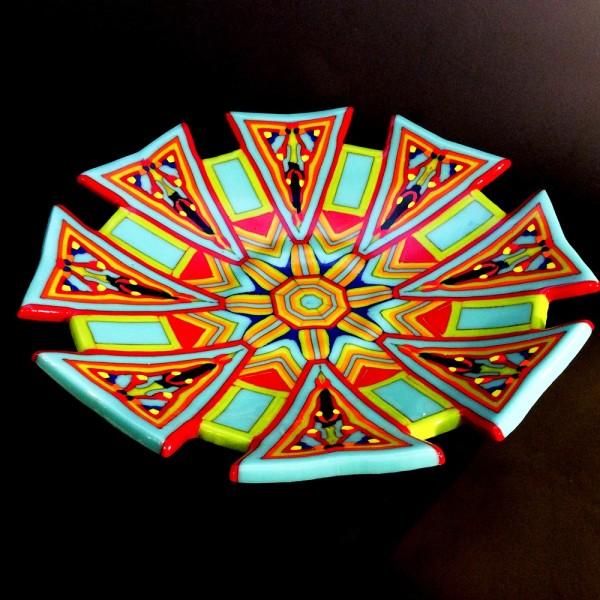 Kristin Sheffels Simpson, Kaleidoscope Bowl, 2016