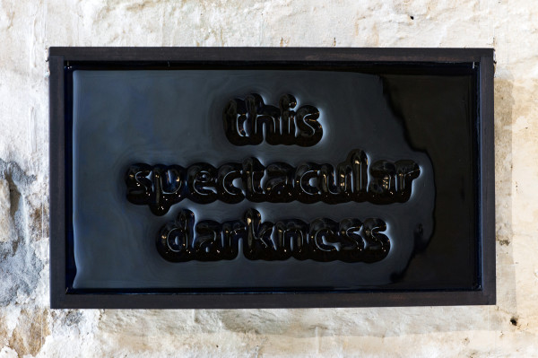 Jeff Zimmer, This spectacular darkness, 2019