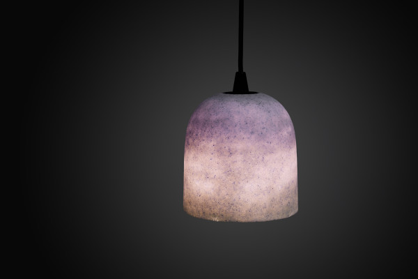 Joshua Kerley, Sinter Pendant Light - Pink, Grey, and Cobalt, 2020