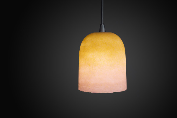 Joshua Kerley, Sinter Pendant Light - Pink and Yellow, 2020