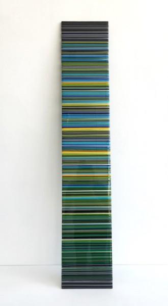 Romy Randev, Blue Panel #2, 2017