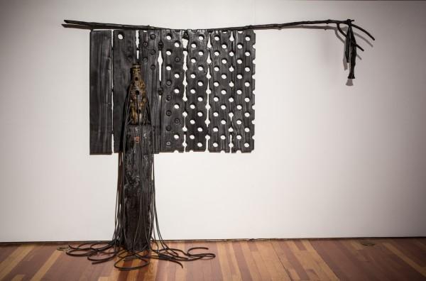 Clifford Rainey, In the Beginning Was Black, 2013