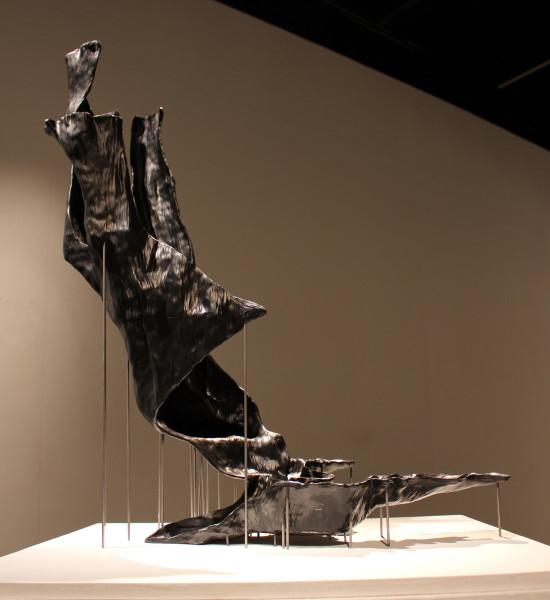 Adrien Segal, Cedar Fire Progression (Sculpture), 2016