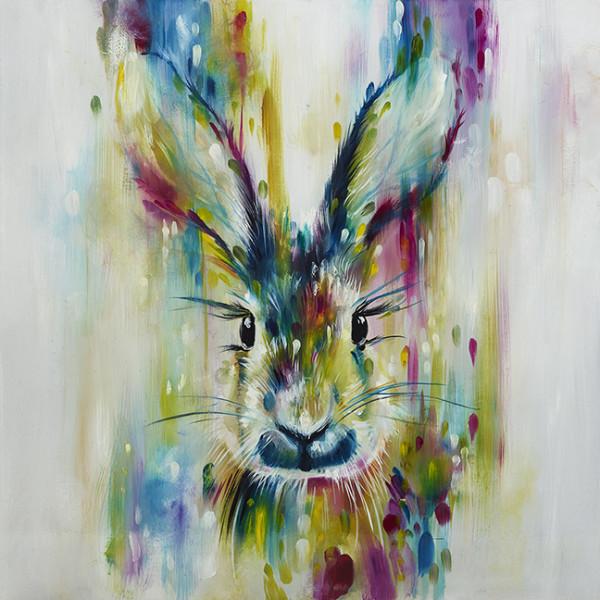 Hare - Escape (large), 2018