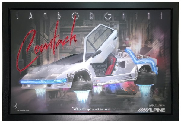 No Landing - Lamborghini Countach - Original, 2018