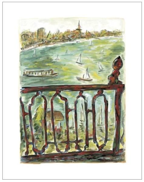 Vista From Balcony (medium format), 2010