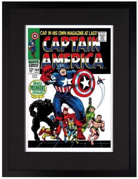 Captain America #100 - Big Premiere Issue! (paper)