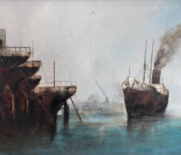Liner Entering Port