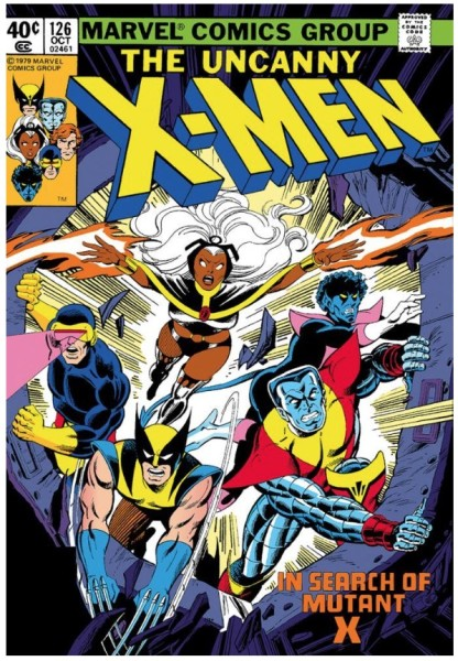 The Uncanny X-Men #126 - In Search Of Mutant X (paper)